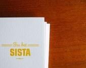 "Gangsta Card ""Tru Dat Sista"""