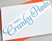 Cranky Pants Card
