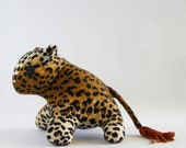 RESERVED for Jane -super soft baby leopard - baby safe stuffed toy
