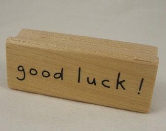 Good luck stamp by Inkadinkado