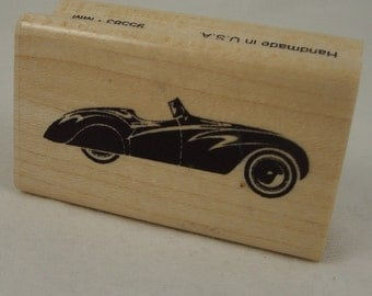 Dad's Roadster stamp by Inkadinkado