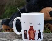 Bear Family Mug