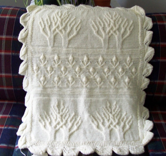 Baby Afghan Tree Of Life