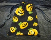 Pumpkin Drawstring Gift Bag
