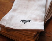 Little Birdie--Extra Large Un-paper Towels/Napkins   Set of 12