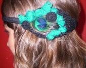 Olipeacock headband