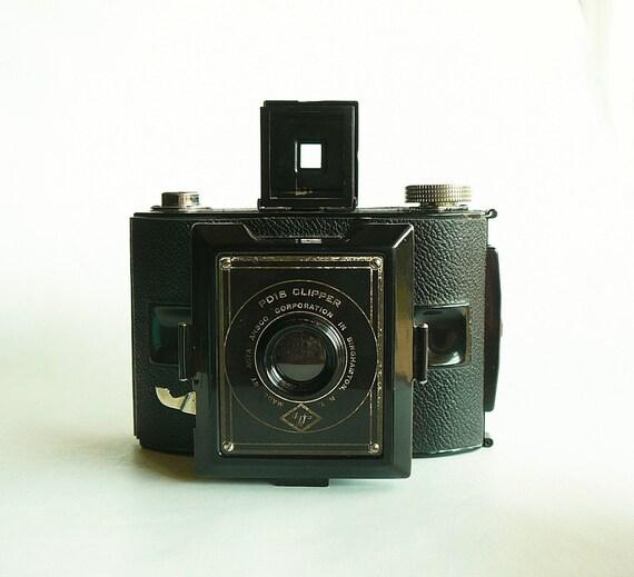 Vintage Agfa PD16 Clipper Camera with Original Box