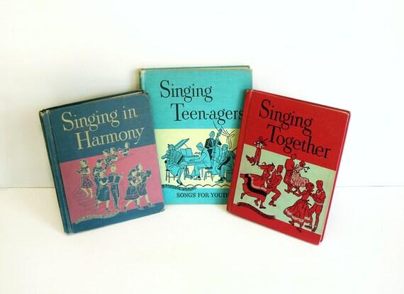 Vintage Music Books Ginn Midcentury