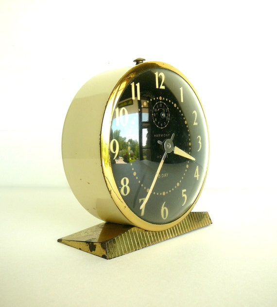 RESERVED FOR Arturo - Vintage Metal Alarm Clock Ingraham