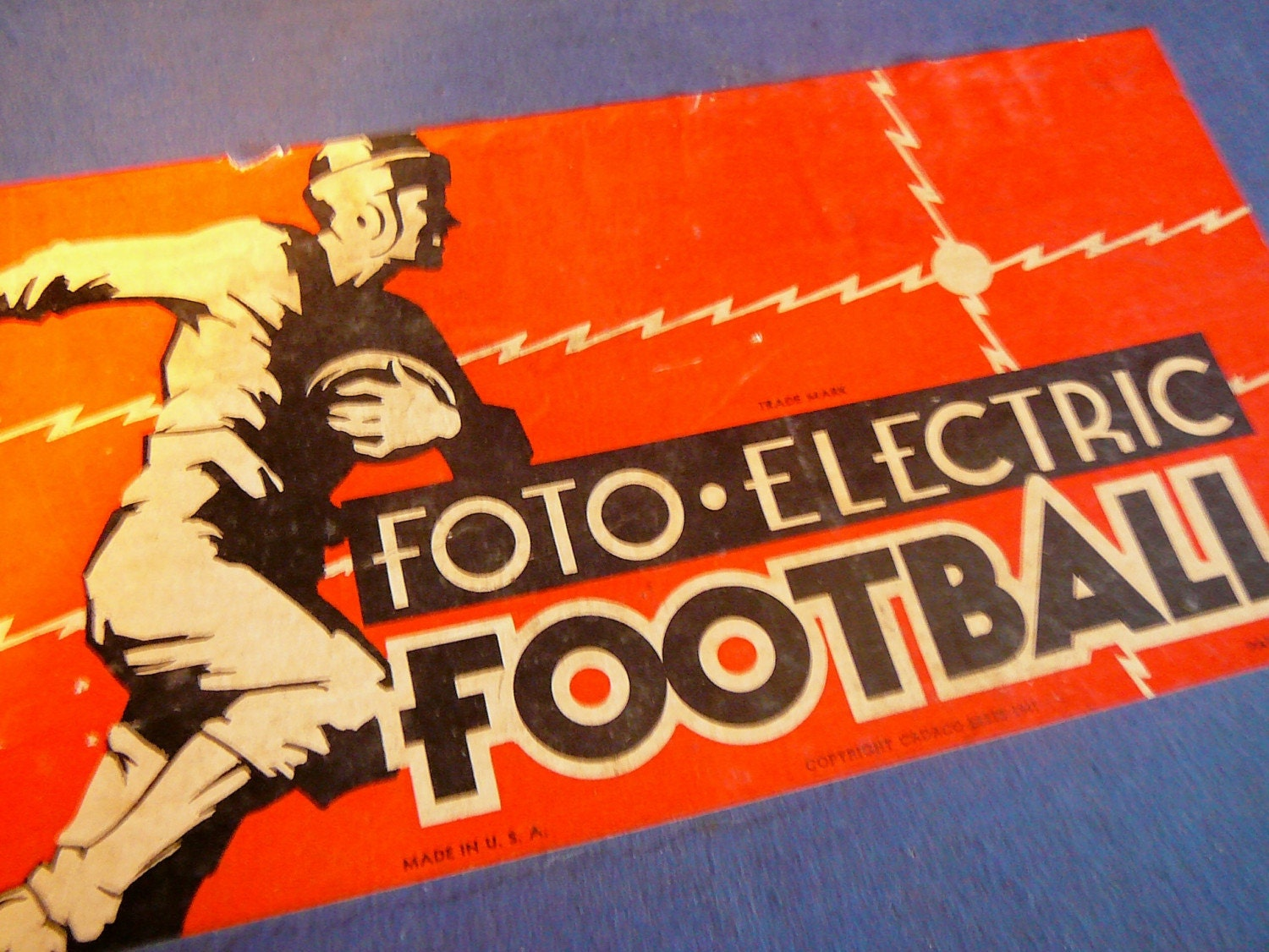 Vintage Electric Football Game 73