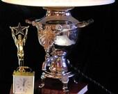"Steampunk  ""Star Gazer"" Lamp"