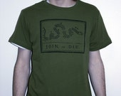 Black on Army JOIN, or DIE  Men's Medium