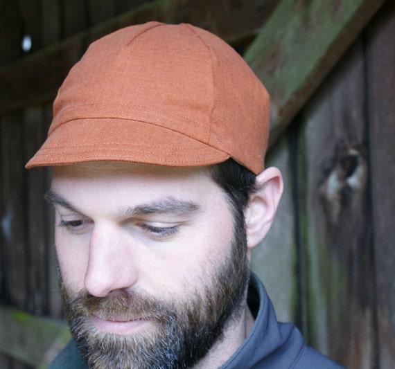 Cinnamon Hemp Cycling Cap (size Medium)