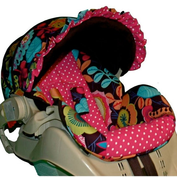 Graco Snugride Custom Infant Car Seat Cover - Lorenza Too - Ready to Ship