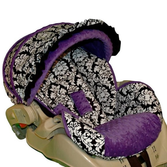 graco snugride 22 custom infant car seat cover dandy damask. Black Bedroom Furniture Sets. Home Design Ideas