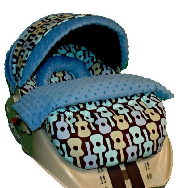 Snugride Custom Infant Car Seat Boot Blanket - Your choice of fabrics         To coordinate with your seat cover