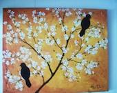 black birds 24x30