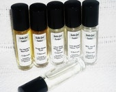 Custom Body Oil Roll On Listing Choose Your Own Scent