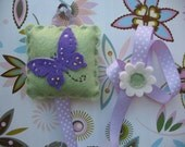 Butterfly Hair Clip And Bow Holder