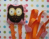 Owl Hair Clip And Bow Holder
