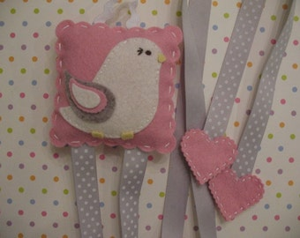 Pudgy Birdie Hair Clip Holder