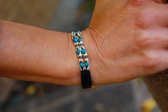 Womens Leather Bracelet | The Cherokee