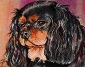 Custom Pet portrait Drawing-  8x10