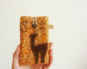 Iphone 4 Case, Iphone 4 Sleeve, Gift For Him, Deer Cell Phone Case, Mobile Cover Deer, Padded Iphone 4 Case - Dear Deer