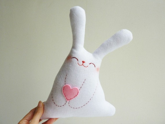 Bunny Plush - Roro with love - EtsyProjectEmbrace