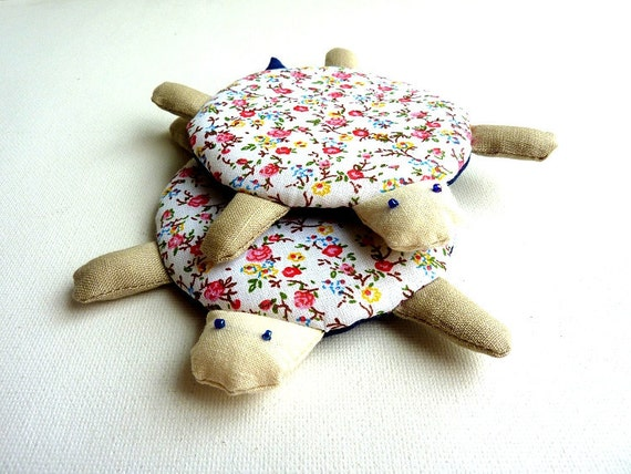RESERVED FOR Pinkyy24 - Turtle coasters (Set of 4)