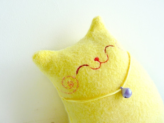 PlushCat - Lemon Baby - Etsy Project Embrace