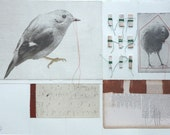 original etching 'The gold collection I