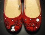 I Lost My Heart in the Woods Shoes - Size 9