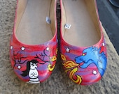 Lost in the Woods with My Dragon Shoes - Size 8