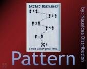 MCMC Hammer Cross-stitch Pattern