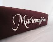 Mathemagician Zippered Pencil Pouch