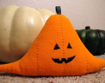 Stat-o-lantern Plushie - Standard Normal Distribution