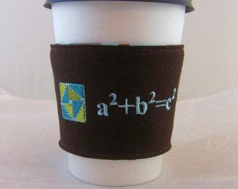 Pythagorean Theorem Coffee Cozy