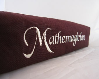 Mathemagician Zippered Pencil Pouch
