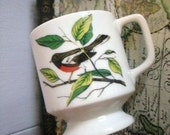 A Little Bird told me -   Vintage tea or coffee cup.