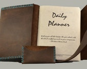 Custom Leather Day Planner for the Adventurous Soul