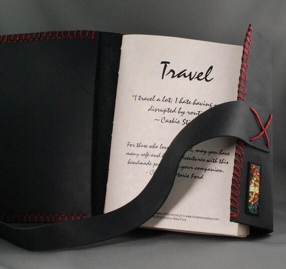 Deluxe Custom Travel Journal for the Creative Soul