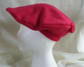 Red Fleece Beret