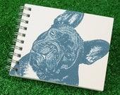 Mini Journal - French Bulldog in Blue