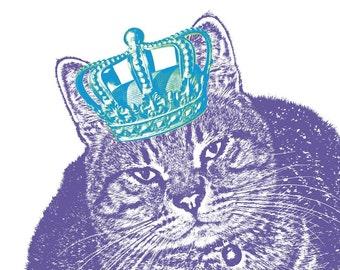 Every Pet Deserves a Crown - CUSTOM PET PORTRAIT, 11x14