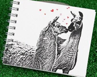Mini Journal - Llama Love