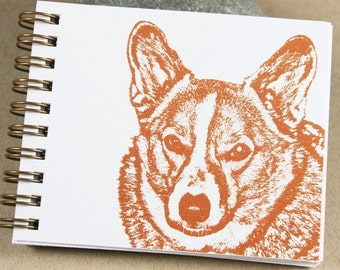 Mini Journal - Rust Corgi