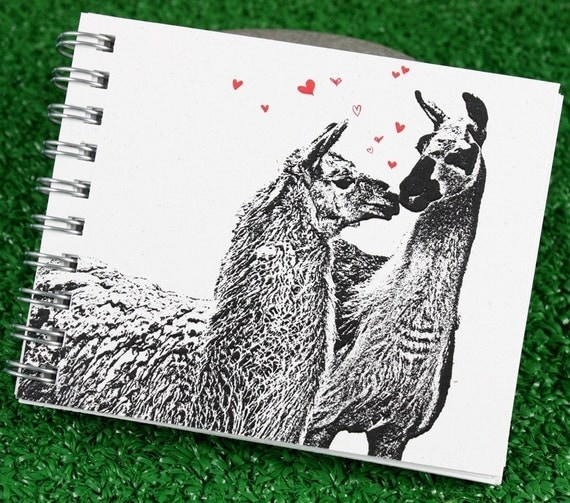 Mini Journal - Llama Love