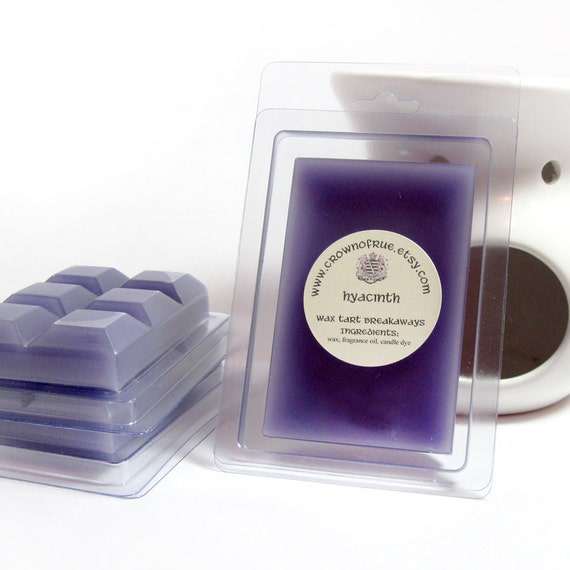 Hyacinth Floral Wax Tarts Clamshell Home Scenting Fragrance