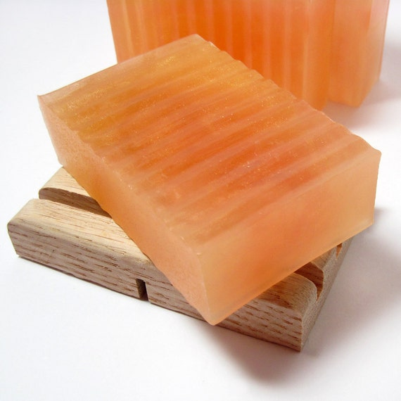 Ginger Peach Vegan Soap Limited Edition